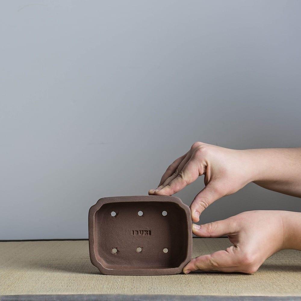 bpm21 3 IBUKI Hand Made Bonsai Pot by Mariusz Folda   Image of bpm21 3