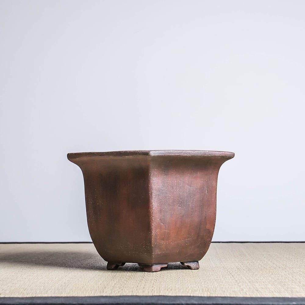 bpu84 1 1 IBUKI Hand Made Bonsai Pot by Mariusz Folda   Image of bpu84 1 1