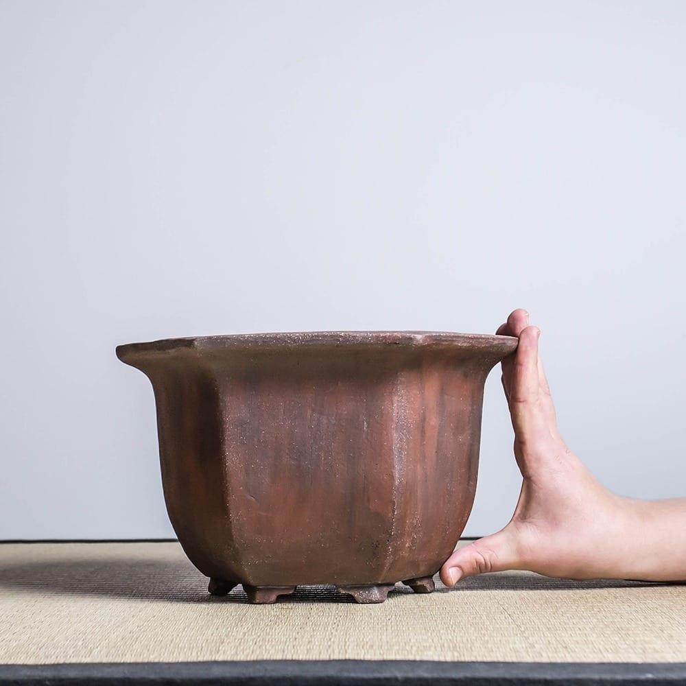bpu84 2 IBUKI Hand Made Bonsai Pot by Mariusz Folda   Image of bpu84 2