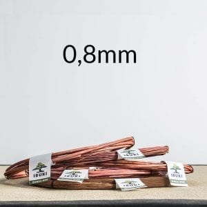 08mm 300x300 Copper Bonsai Wire 1,2mm 1kg   Image of 08mm 300x300