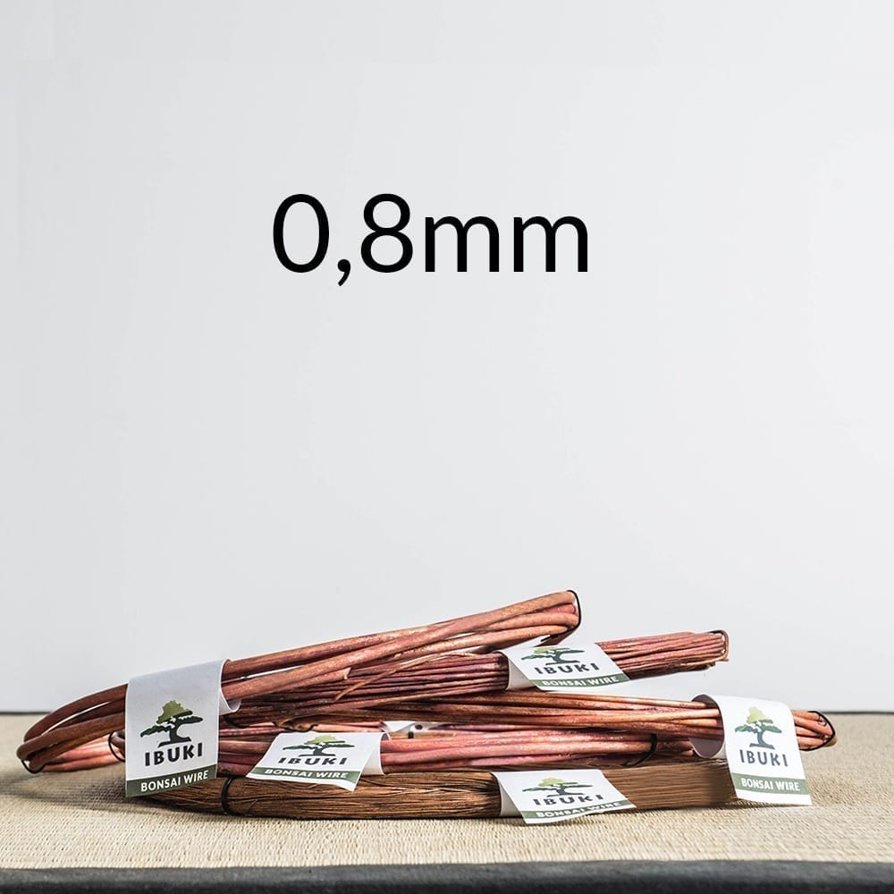 08mm Copper Bonsai Wire 0,8mm 0,5 kg   Image of 08mm