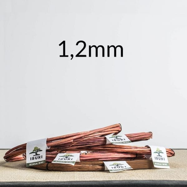 12mm Copper Bonsai Wire 1,2mm 1kg   Image of 12mm