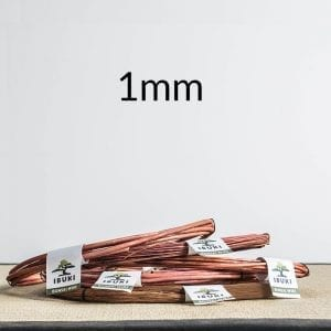 1mm 1 300x300 Copper Bonsai Wire 2,0mm 1kg   Image of 1mm 1 300x300