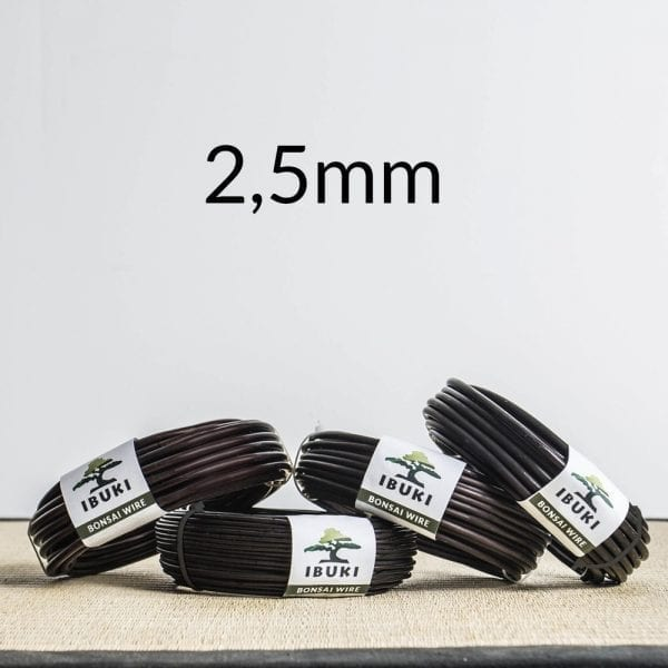 25mm Aluminium Bonsai Wire 2,5mm   Image of 25mm