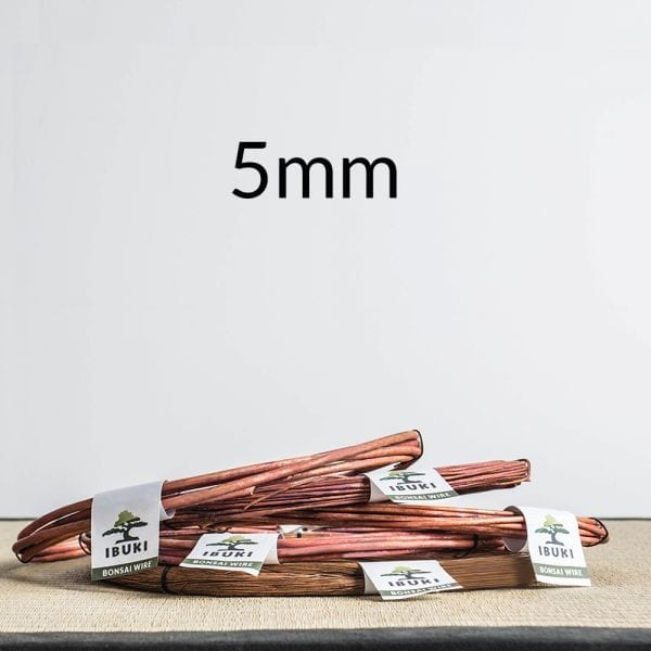 5mm 1 Copper Bonsai Wire 5,0mm 1kg   Image of 5mm 1