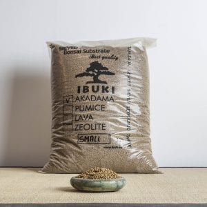 akadama small 1 300x300 MIX AKADAMA 60% / PUMICE (BIMS) 40% IBUKI Bonsai Sieved Substrate for leaf trees 6.5 7mm   Image of akadama small 1 300x300