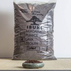 lava large1 300x300 IBUKI BONSAI SIEVED SUBSTRATE   MIX FIRED AKADAMA 60% / PUMICE (BIMS) 40% LARGE size  6,5 7 mm   Image of lava large1 300x300