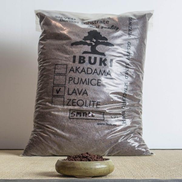 lava small1 IBUKI Bonsai Substrate   Lava 2,5 3mm (17 litres)   Image of lava small1