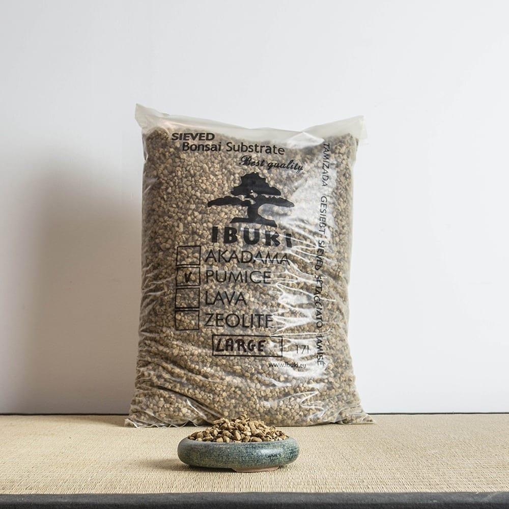 pumice large1 1 IBUKI Bonsai Substrate   PUMICE (BIMS) 6.5 7mm (17 litres)   Image of pumice large1 1