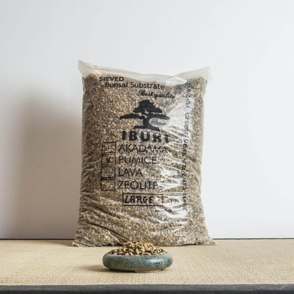 pumice large1 IBUKI Bonsai Substrate   PUMICE (BIMS) 6.5 7mm (17 litres)   Image of pumice large1
