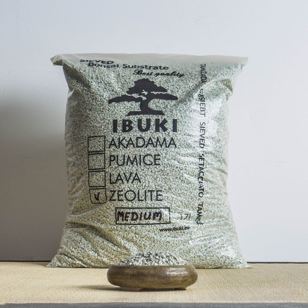 zeolite medium1 IBUKI Bonsai Substrate   PUMICE (BIMS) 6.5 7mm (17 litres)   Image of zeolite medium1
