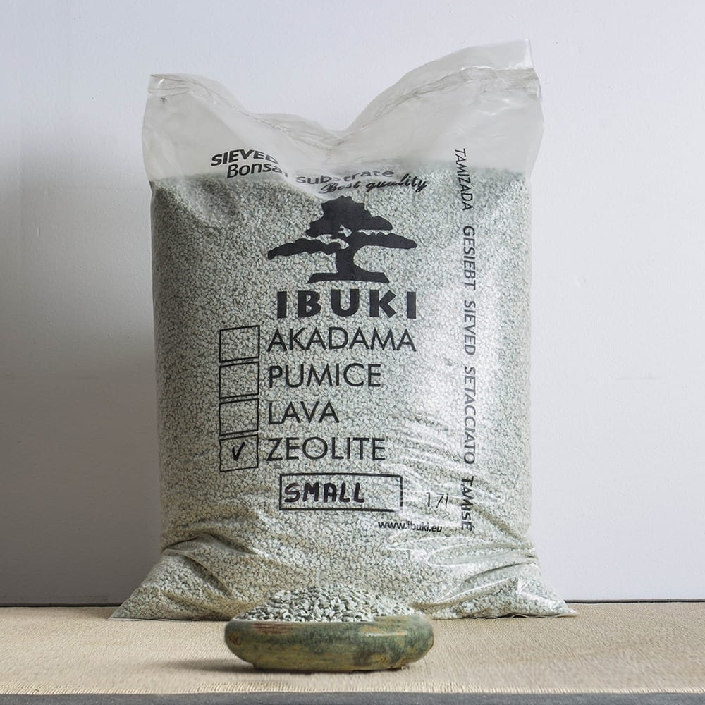zeolite small1 MIX AKADAMA 50% / PUMICE (BIMS) 50% IBUKI Bonsai Sieved Substrate for needle trees 4.5 5   Image of zeolite small1