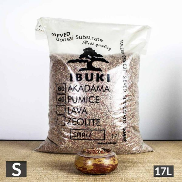 1 38 1 IBUKI BONSAI SIEVED SUBSTRATE   MIX FIRED AKADAMA 60% / PUMICE (BIMS) 40%  SMALL size  2,5 3 m   Image of 1 38 1