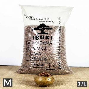 medium 1 300x300 IBUKI BONSAI SIEVED SUBSTRATE   MIX FIRED AKADAMA 60% / PUMICE (BIMS) 40% LARGE size  6,5 7 mm   Image of medium 1 300x300