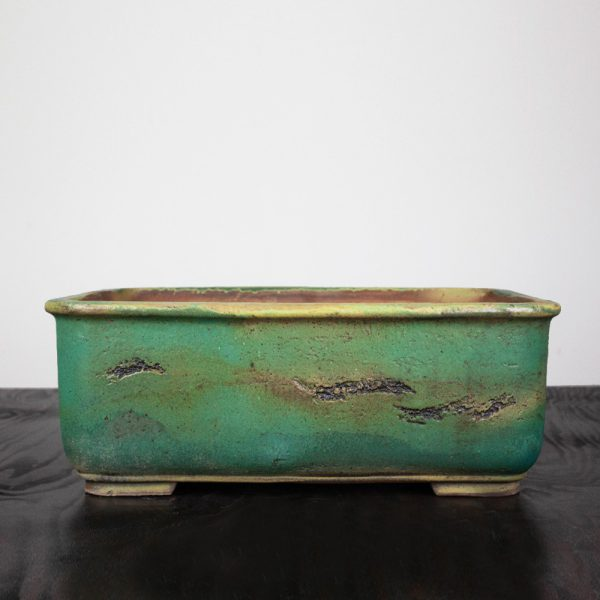 bonsai pot 2 15 IBUKI Hand Made Bonsai Pot by Mariusz Folda BPG253   Image of bonsai pot 2 15