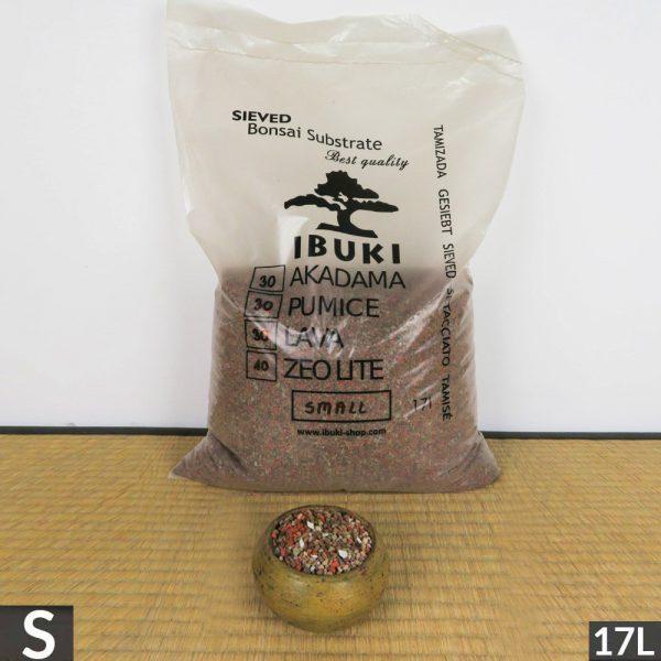 1 21 IBUKI BONSAI SIEVED SUBSTRATE MIX SEMIFIRED AKADAMA 30% / PUMICE (BIMS) 30% / LAVA 30%/ ZEOLITE 10% SMALL size 2,5 3 m   Image of 1 21
