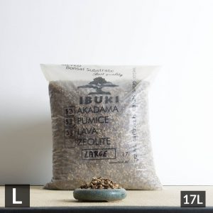 33a33p33l large1 1 300x300 IBUKI BONSAI SIEVED SUBSTRATE MIX SEMIFIRED AKADAMA 33% / PUMICE (BIMS) 33% / LAVA 33% XL size  10 11 mm   Image of 33a33p33l large1 1 300x300
