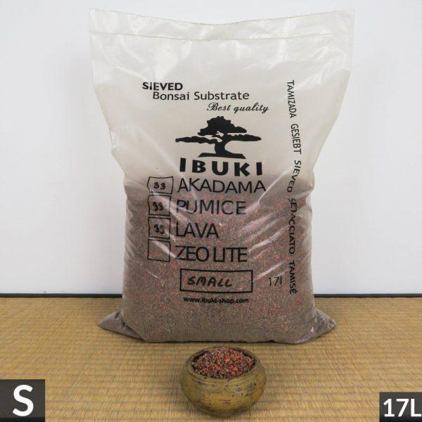 5 IBUKI BONSAI SIEVED SUBSTRATE MIX SEMIFIRED AKADAMA 33% / PUMICE (BIMS) 33% / LAVA 33% SMALL size  2,5 3 m   Image of 5