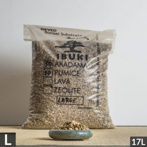 50akadama50pumice large1 1 300x300 MIX AKADAMA 60% / PUMICE (BIMS) 40% IBUKI Bonsai Sieved Substrate for leaf trees 6.5 7mm   Image of 50akadama50pumice large1 1 300x300