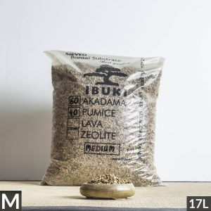 60akadama50pumice medium1 1 2 300x300 MIX AKADAMA 60% / PUMICE (BIMS) 40% IBUKI Bonsai Sieved Substrate for leaf trees 6.5 7mm   Image of 60akadama50pumice medium1 1 2 300x300