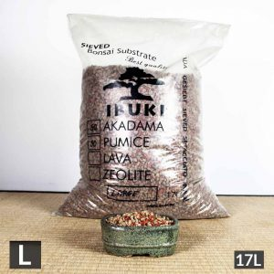 large 3 4 300x300 MIX AKADAMA 60% / PUMICE (BIMS) 40% IBUKI Bonsai Sieved Substrate for leaf trees 4.5 5mm   Image of large 3 4 300x300